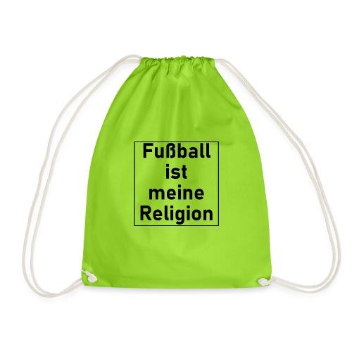 Fußball ist meine Religion V2 - Turnbeutel