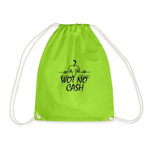 WOT NO CASH - Drawstring Bag