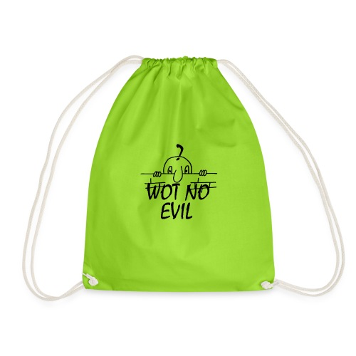 WOT NO EVIL - Drawstring Bag