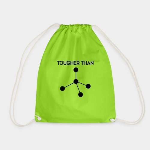 Tougher Than Diamond - Drawstring Bag