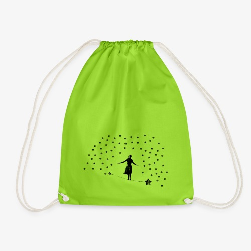 Slackline in the stars - Drawstring Bag