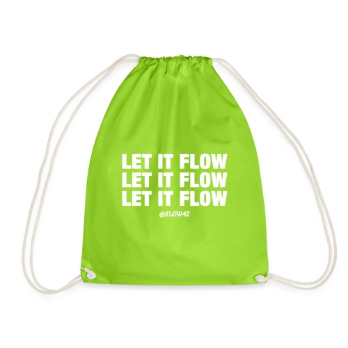 LET IT FLOW - Sacca sportiva