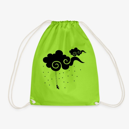 Dreaming in the clouds - Drawstring Bag