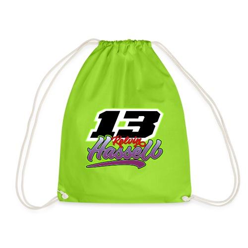 13 Kelvin Hassell 2021 name & number - Drawstring Bag