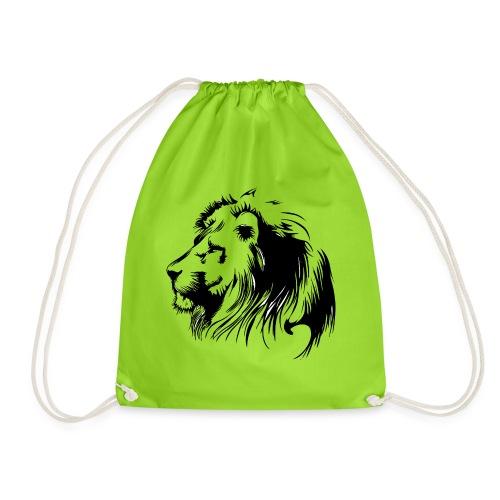 vinilo leon - Mochila saco