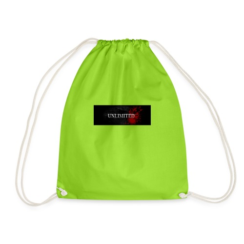 unlimited copy - Drawstring Bag