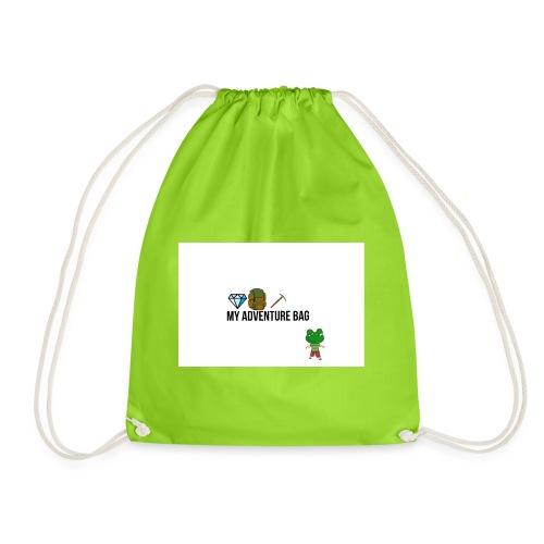 My adventure bag - Drawstring Bag