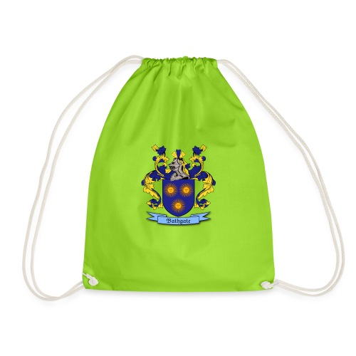 Bathgate Family Crest - Drawstring Bag