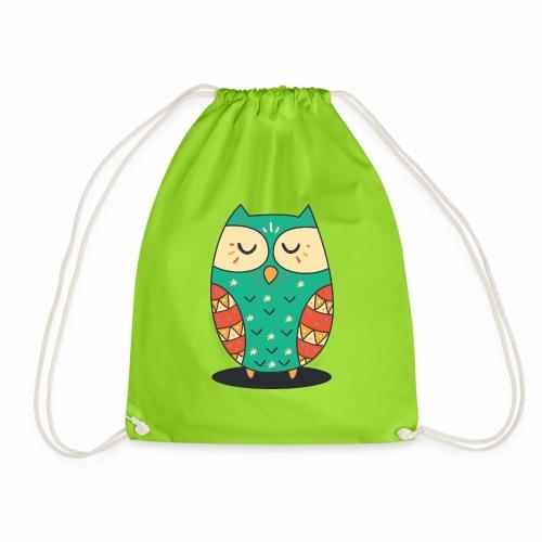 Cute Owl - Turnbeutel