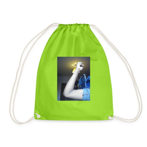 Muscle man! - Drawstring Bag