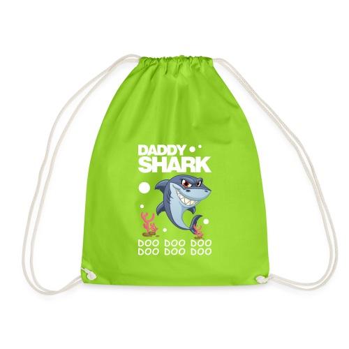 Daddy Shark Doo Doo - Drawstring Bag