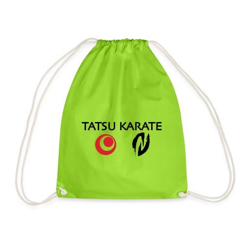Tatsu Karate med två logo - Gymnastikpåse