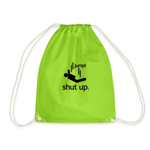 shut up and jump - Sacca sportiva