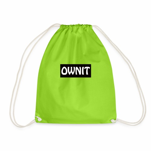 OWNIT logo - Drawstring Bag