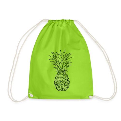 pineapple - Drawstring Bag