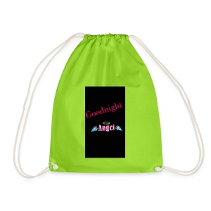 goodnight Angel Snapchat - Drawstring Bag