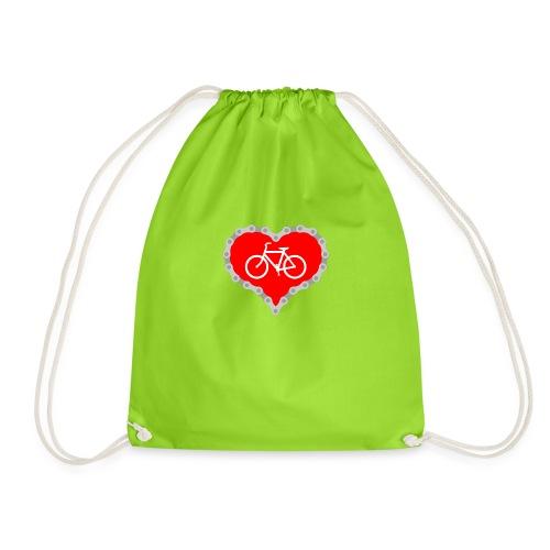 Miłość Biking - Worek gimnastyczny