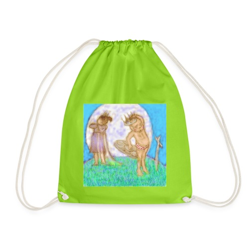 Arthur & Guinevere.. before things got complicated - Drawstring Bag