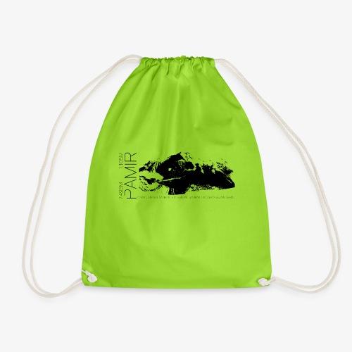 Pamir Expedition black - Drawstring Bag