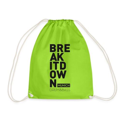 Break it Down (Black) - Turnbeutel