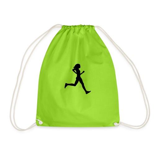 Running women - Worek gimnastyczny