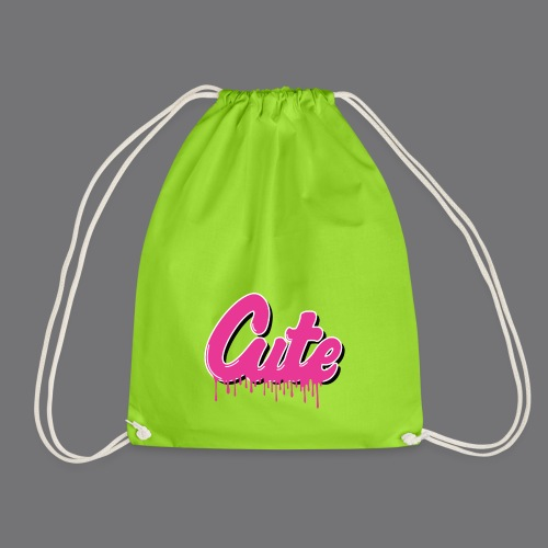 CUTE Tee Shirts - Drawstring Bag