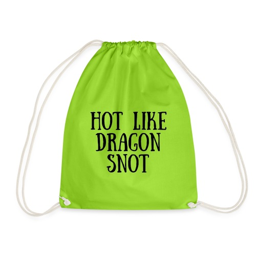 Hot like Blk - Drawstring Bag