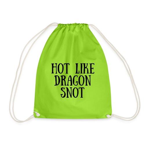 Hot like Blk - Drawstring Bag