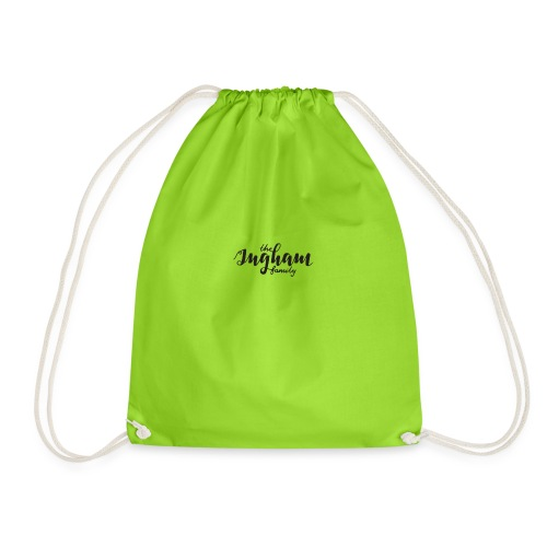 the ingham family - Drawstring Bag