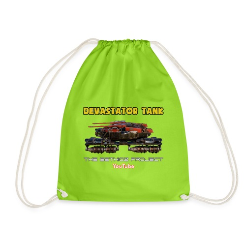 Devastator Tank by Sethioz - Drawstring Bag