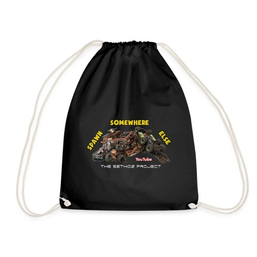 Spawn Somewhere Else ! - Drawstring Bag