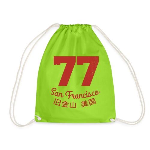77 san francisco usa - Turnbeutel