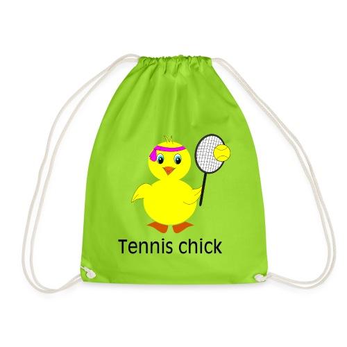 Tennis Chick - Turnbeutel