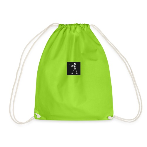 Skelton edition floss - Drawstring Bag