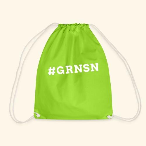 Hashtag #GRNSN 2-seitig - Turnbeutel