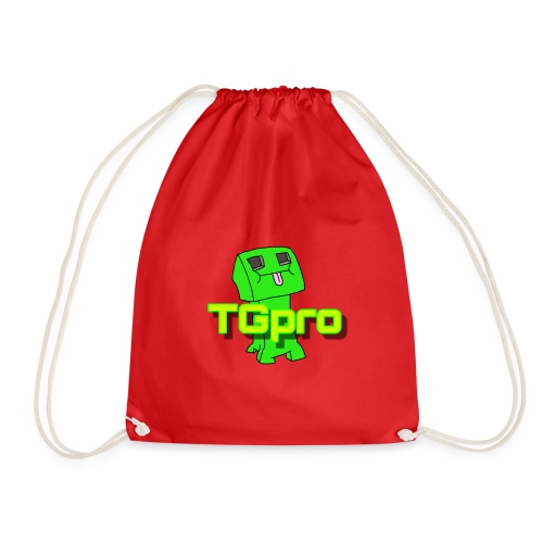 TGpro Creeper logo - Drawstring Bag