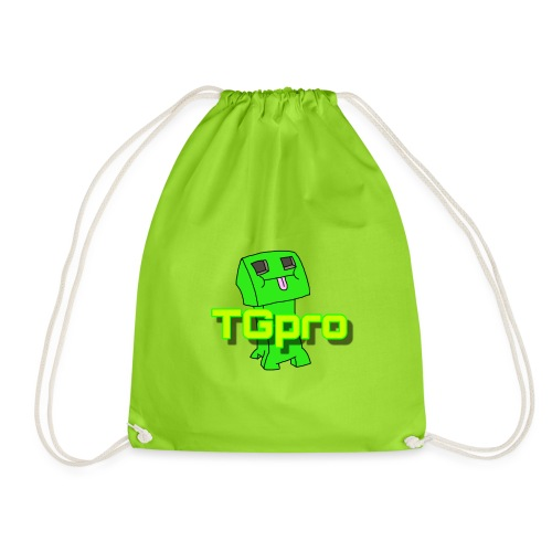 TGpro Creeper logo - Drawstring Bag