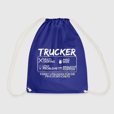 Der Trucker - Turnbeutel