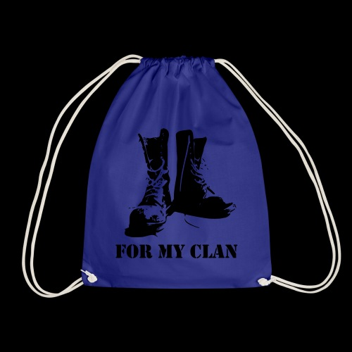 For my Clan - Turnbeutel
