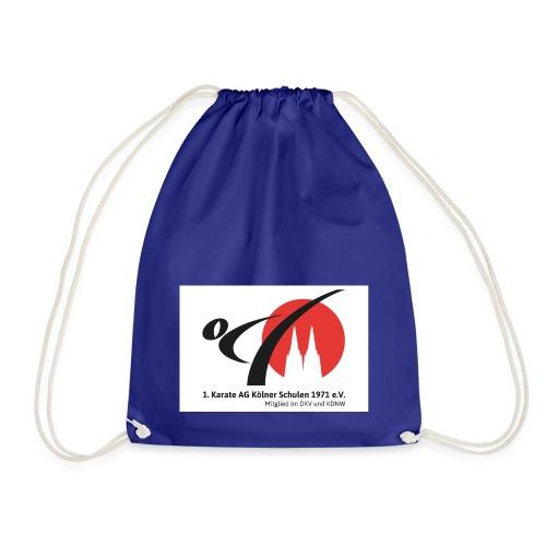 Fanshop_Logo_Karate_Ag - Turnbeutel