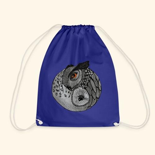 Chouette ying-yang - Sac de sport léger