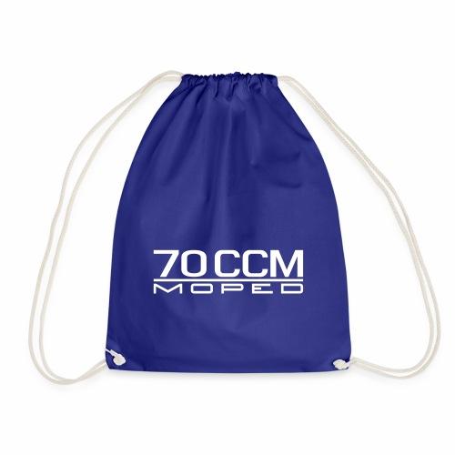 70 ccm Moped Emblem - Drawstring Bag