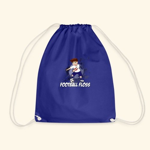Japan World Cup Football Floss - Drawstring Bag