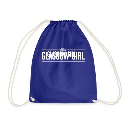 Glasgow Girl t-shirt - Drawstring Bag