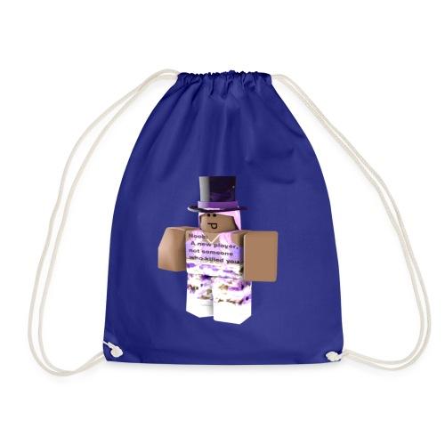Poppit5AJ Pic - Drawstring Bag