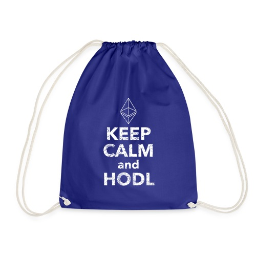 Ethereum Keep Calm and HODL Vintage Edition - Turnbeutel