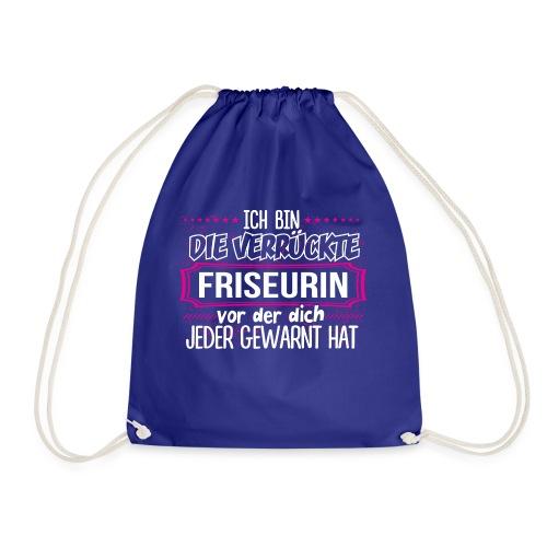 FRISEURIN - die verrückte - Turnbeutel