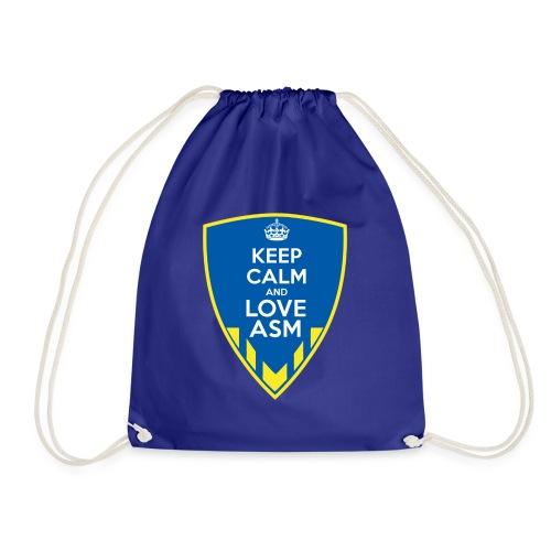 Blason Keep Calm And Love ASM - Sac de sport léger