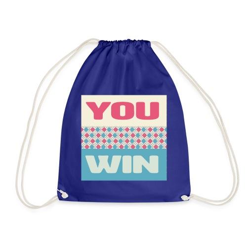 you win 8 - Drawstring Bag