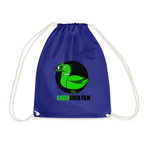 Greenduck Film Logo w. black letters - Sportstaske